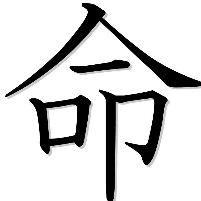 la vida en japonés es 命 (inochi)