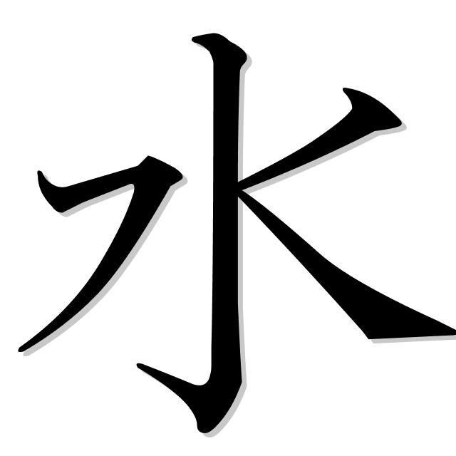 agua en japonés es 水 (mizu)